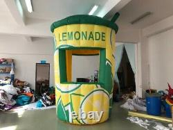 12ft/3.5m Inflatable Lemonade Concession Stand Event Drink Tent Booth Free Ship