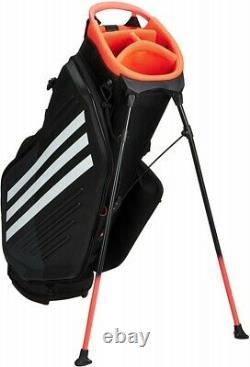 2020 ADIDAS Golf JAPAN GUW09 Caddy Bag Stand Bag Black x White Fast Shipping