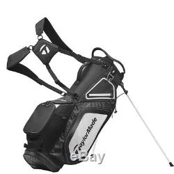 2020 New In Box Taylormade Tm20 8.0 Black White Charcoal Stand Bag Free Ship