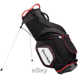 2020 New In Box Taylormade Tm20 8.0 Black White Red Stand Bag Free Ship