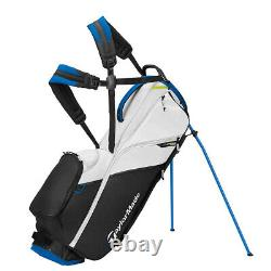 2021 New In Box Taylormade Flextech Lite Stand Bag Black Blue Lime Neon Nc Ship