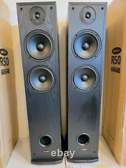 (2) Polk Audio R50 Floor Standing Tower Speakers FAST FREE SHIPPING INCLUDED