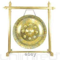 32 Buddha's Heart Thai Gong on Gold Gong Stand Free Shipping