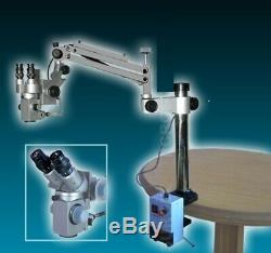 3 Step Portable Stand Surgical ENT Microscope Manual Fine Focusing FREE SHIPPING