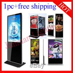 43 Inch Floor Standing Digital Signage Advertising Screen 1pc Free Shipping