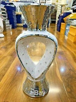 46cm Tall Floor Standing Beautiful Vase Mirror Ceramic Vase Home Decor fast ship