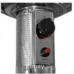 48000 BTU Patio Heater Stainless Steel LPG Outdoor Heating Propane FREE SHIPPING