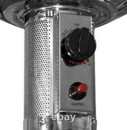 48000 BTU Stainless Steel Patio Heater- PRIORITY SHIP