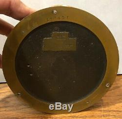 4 Chelsea Ships Bell Negus New York With Stand Mantel Clock 1920-1924