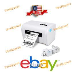 4x6 Thermal Shipping Label Barcode Printer Amazon eBay Bluetooth FREE Stand