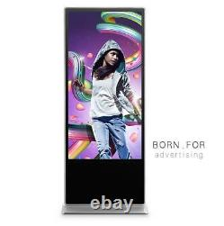 65 Inch Floor Standing Digital Signage Advertising Screen 1pc Free Shipping