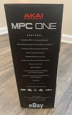Akai Professional MPC One with Cables & Stand Ready To Ship NOT A PREORDER