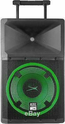 Altec Lansing Lightning Active LED Bluetooth Speaker Stand Microphone NO CA SHIP