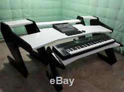 Audio Workstation Desk with Keyboard Stand 88 Keys (StudioDesk) FREE SHIPPING