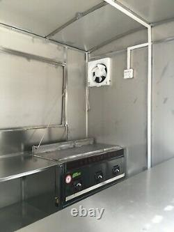 BN 2.5mx1.6m Concession Stand Food Trailer Mobile Kitchen Free Ship by Sea