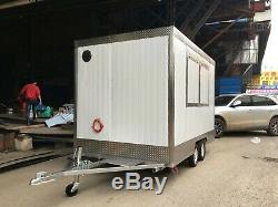 BN 9.8ft Concession Stand Food Trailer Mobile Kitchen Free Ship Shipped by Sea
