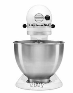 BRAND NEW KitchenAid Classic 4.5-Quart Tilt Head Stand Mixer White Fast Ship