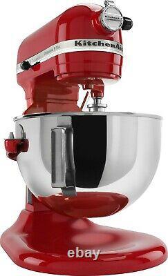 BRAND NEW KitchenAid Professional 5qt Stand Mixer KV25G0XER Empire Red FAST SHIP