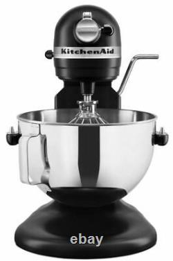 BRAND NEW KitchenAid Professional 5qt Stand Mixer KV25G0X Matte Black SHIPS NOW