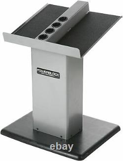 BRAND NEW & SEALED POWERBLOCK Large Column Stand Silver/Black SHIPS SAME DAY