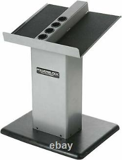 BRAND NEW and SEALED POWERBLOCK Large Column Stand, Silver/Black SHIPS NEXT DAY