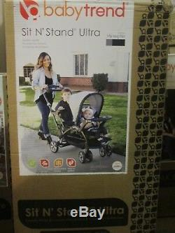 Baby Trend Sit n Stand Ultra Stroller, Morning Mist / Free Shipping