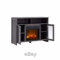 Bold Flame Hudson Fireplace TV Stand Fits Up To 50 FREE 2 Day-Shipping
