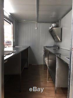 Brand New 4Mx2M Concession Stand Trailer Mobile Kitchen Ship By Sea