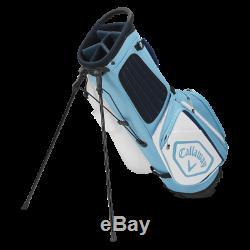 Brand New Callaway Chev Stand Bag Light Blue White-FREE SHIPPING