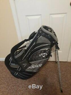 Brand New Callaway Ladies Stand Bag Black and Silver FREE SHIPPING