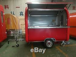 Brand New Concession Stand Trailer Mobile Kitchen Shipped By Sea
