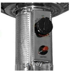 Brand New Hampton Bay 48000 BTU Stainless Steel Patio Heater Fast Free Shipping