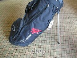 Brand New Sun Mountain Piretti Logo Stand Golf Bag Black Free Shipping