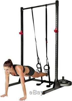 CAP Barbell PowerRack Exercise Stand SquatRack PullUpBar Carbon Fast Ship