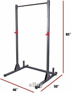 CAP Barbell Power Rack Exercise Stand, Squat Rack, Pull Up Bar FREE SHIPPING