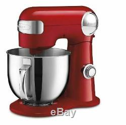 CUISINART 5.5-Qt. Stand Mixer, Red SHIPS FREE