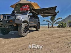 Car Awning 180 Self Standing Black Rh Camping Overland Off Road Free Shipping