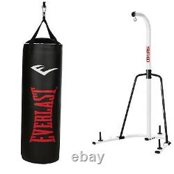 Century Heavy Bag Stand and Everlast 70lb NevaTear Heavy Bag Ships Free