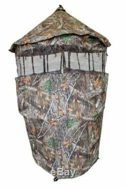 Chameleon Tree Stand Gun Blind By Cooper Hunting Free Hat! Same Day Shipping