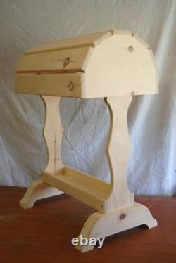 Classic Wood Saddle Stand / Unfinished natural FREE SHIPPING