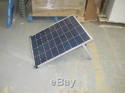 Coleman 80 Watt 12 Volt Crystalline Solar panel with Stand 80W 12V Free Ship