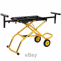 DeWalt DWX726 Rolling Miter Saw Stand 32-1/2 in. X 60 in NEW FREE SHIPPING