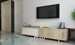 Decorotika Classy 71 TV Stand Sliding Doors Free Shipping