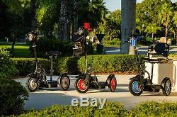 EV Rider Stand-N-Ride electric mobility scooter, Black, Free Shipping