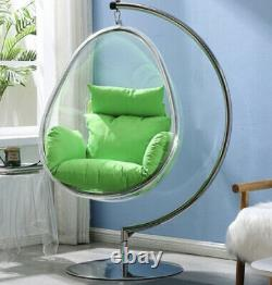 Eero Aarnio Standing hanging Egg Bubble Chair Withstand & white Cushion FREE SHIP