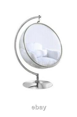 Eero Aarnio hanging Bubble Chair Withstand & white Cushion FREE SHIPPING