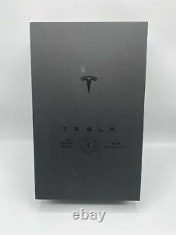 Empty Tesla Tequila Bottle + Stand + Box Limited In Hand Fast Ship