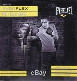 Everlast Reflex Bag, Boxing, Punching Self Standing bag, NEW FREE Shipping