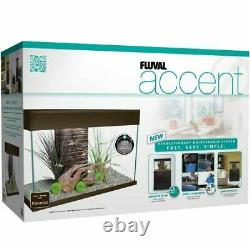 FLUVAL Accent White Aquarium 25 Gallons with Matching White Stand NO SHIPPING