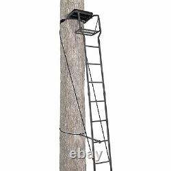 FREE SHIPPING Ameristep 15 Ft Ladderstand Deer Hunting Tree Stand safety harness